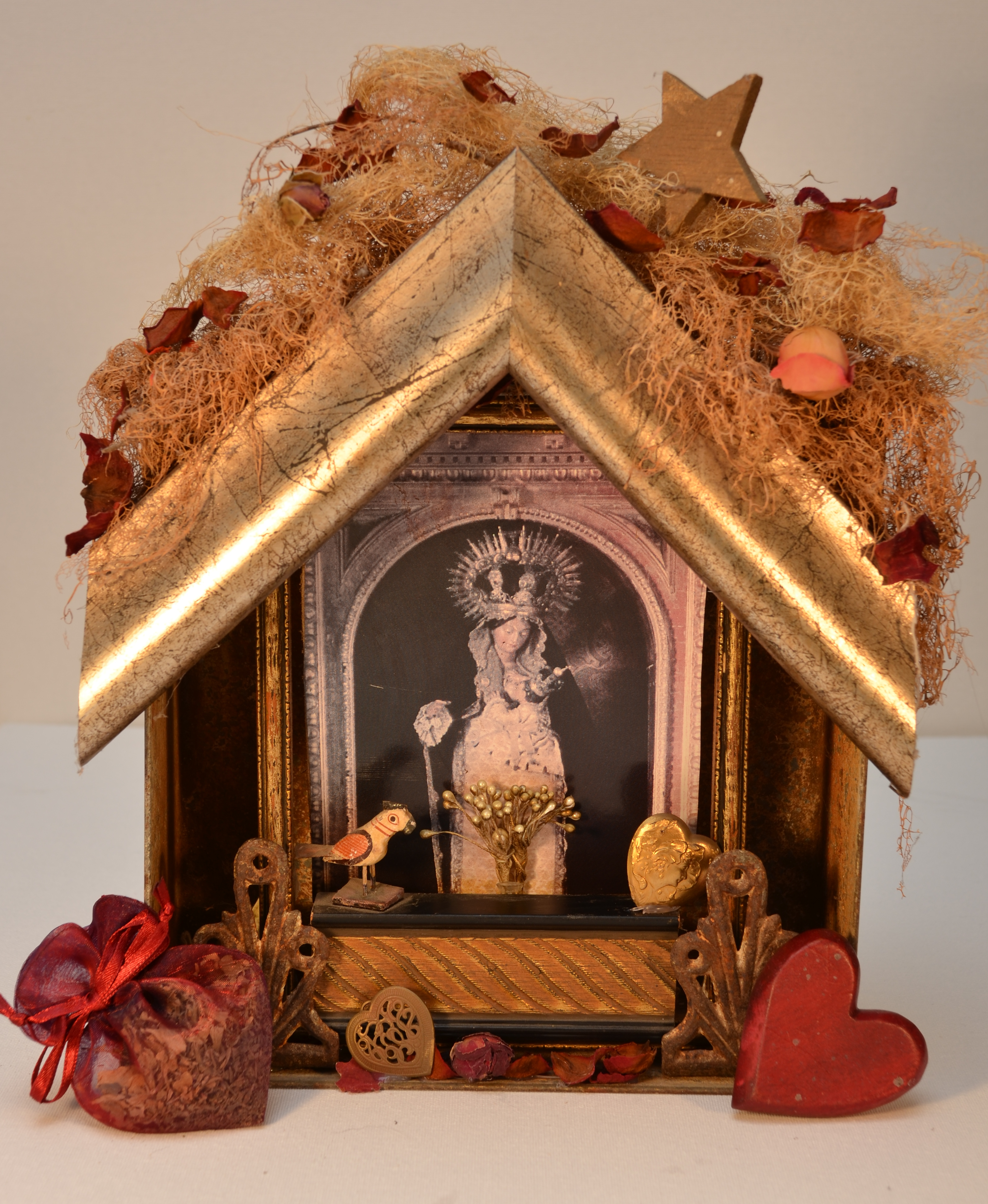 Heart Shrine by Joan Stanford