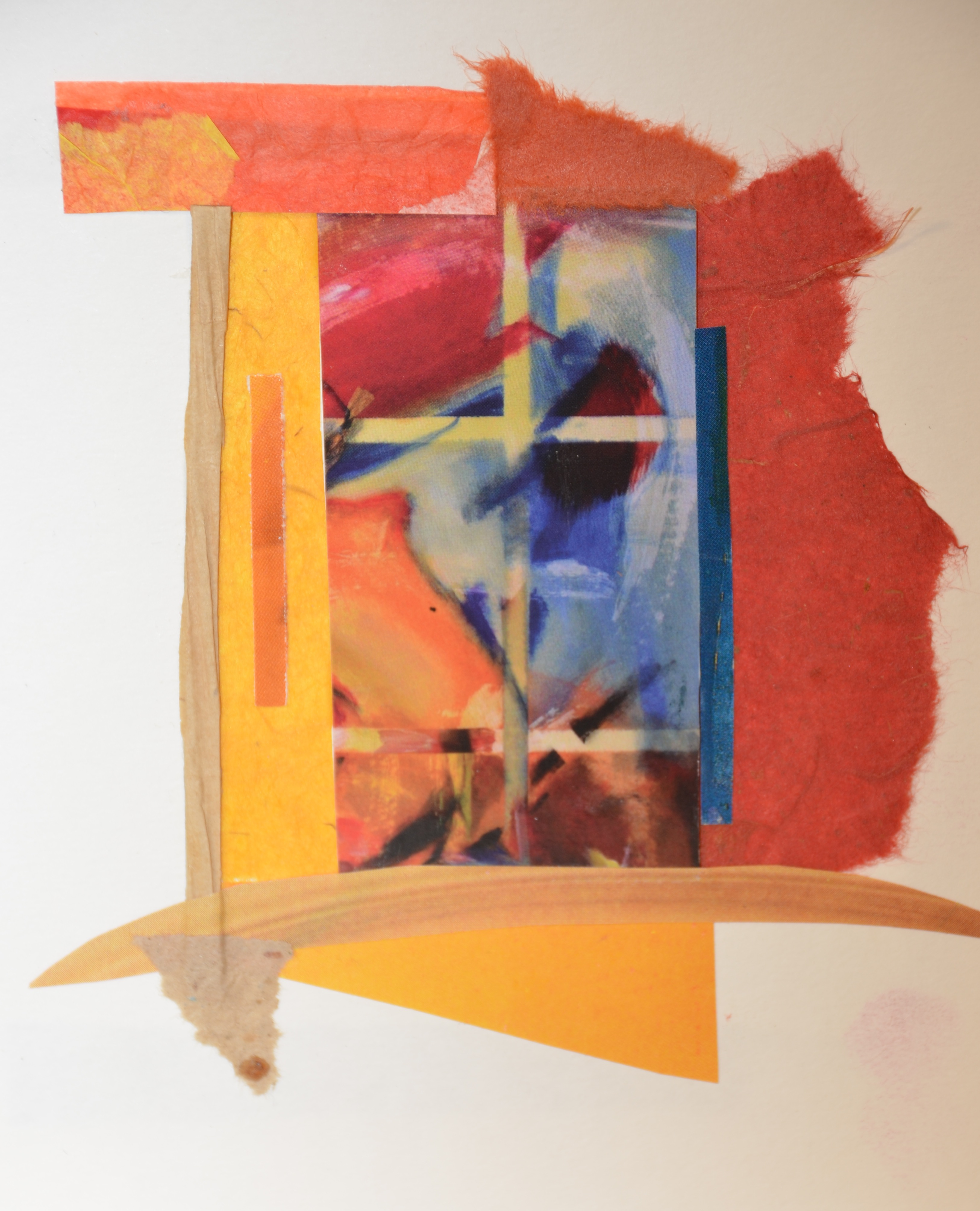 Abstract Window by Joan Stanford