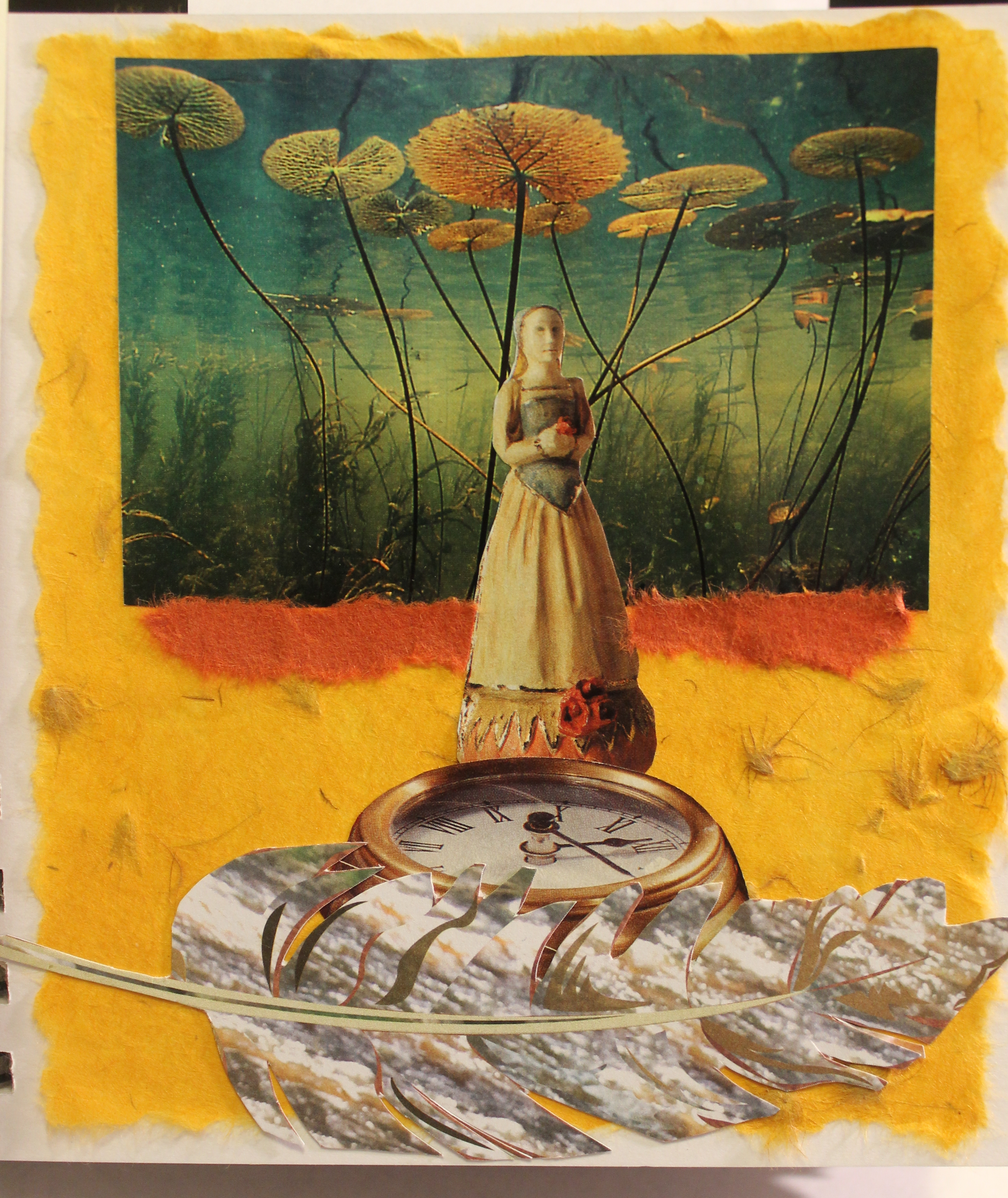Time floats by Joan Stanford