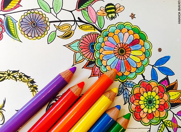 Adult Coloring Books by Amanda Enyati